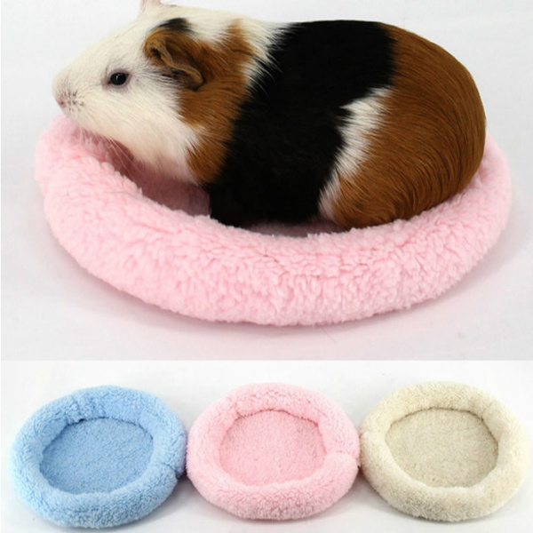 Soft Fleece Guinea Pig Bed Winter Small Animal Cage Mat Hamster Sleeping Bed