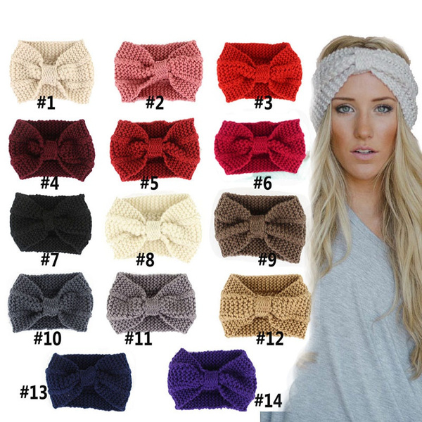 Head Bands, Winter, Stylish, Bow