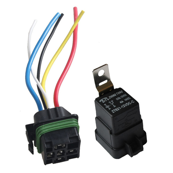 12VDC relay and socket DPDT