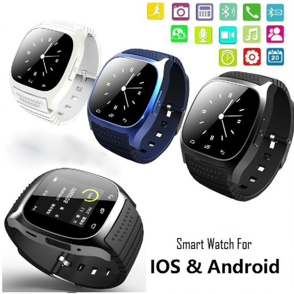 Picture of M26 Smart Wristwatches Bluetooth Sync Phone Mate For Ios Android Smartphone