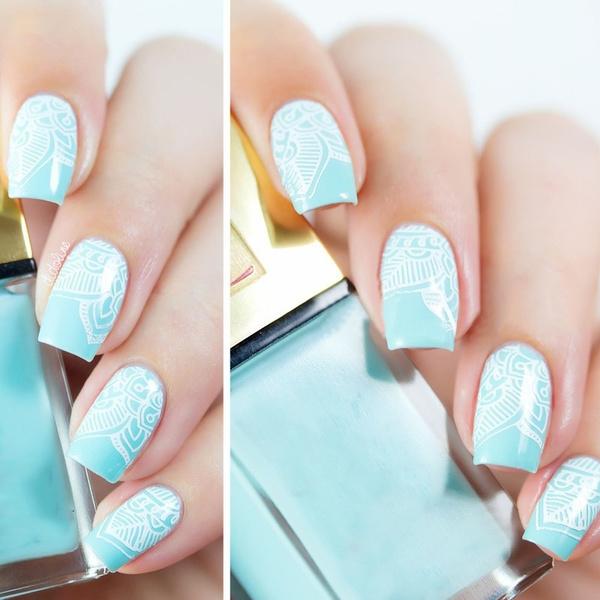 Geek | 1Pc Mandala Nail Art Stamp Plate Mandara Plate Paisley ...