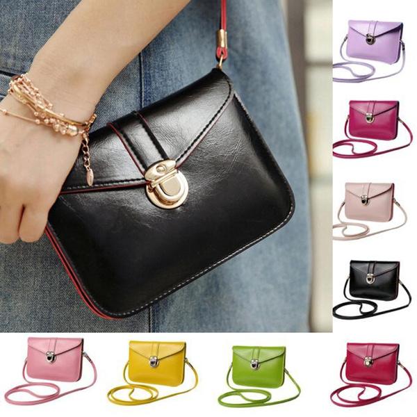 Picture of Fashion Zero Purse Bag Leather Handbag Single Shoulder Messenger Phone Bag Best Selling