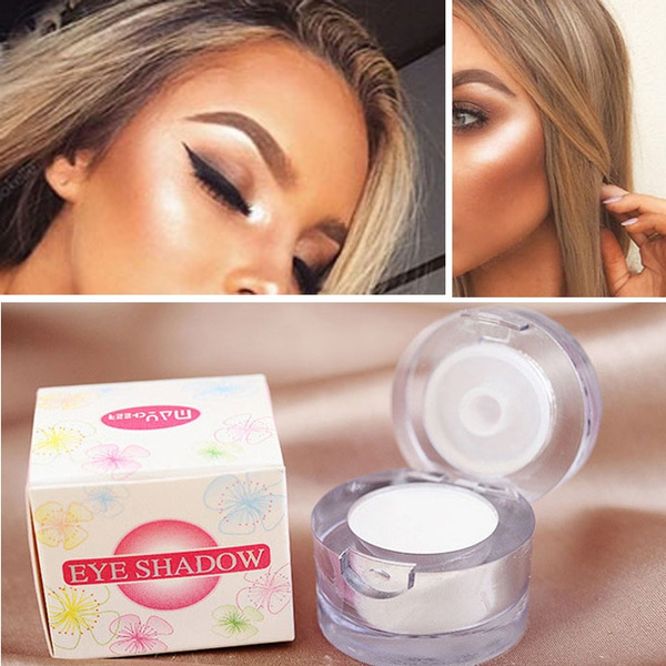 Picture of Professional Women's Face Highlighter Bronzer Palette Eyeshadow Contour Makeup Sets Color White
