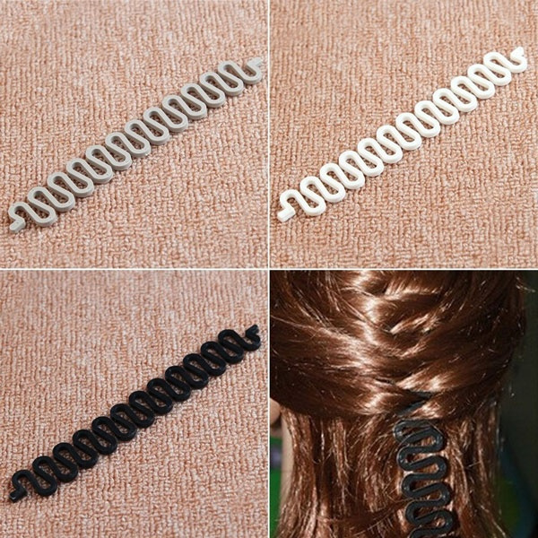 1PC Roller With Magic hair Twist Styling Bun Maker French Pretty Hair Braiding Tool
