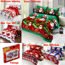 Cotton, Christmas, Gifts, Bedding