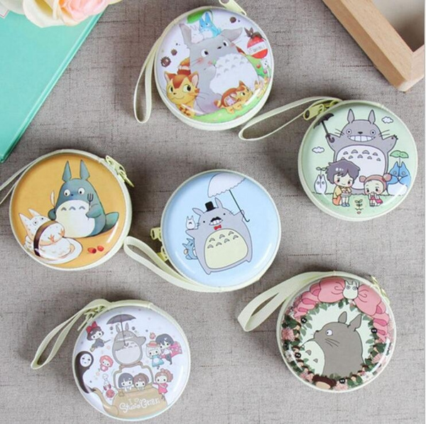 Picture of New Womens Cartoon Totoro Coin Purse Cute Female Money Wallets Mini Clutch Bag Ladies Kids