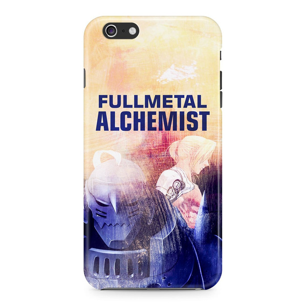 Fullmetal Alchemist Edward Elric Cloud Background Pattern Phone Case for  iPhone and Samsung