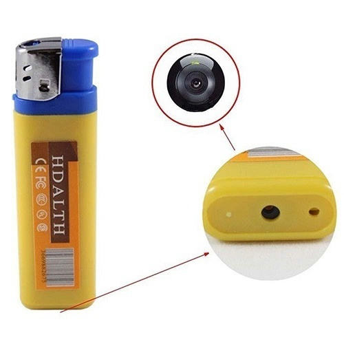 Picture of Home Living Hd 720p Spy Camera Lighter Usb Dv Dvr Hidden Video Recorder Camcorder Size One Size