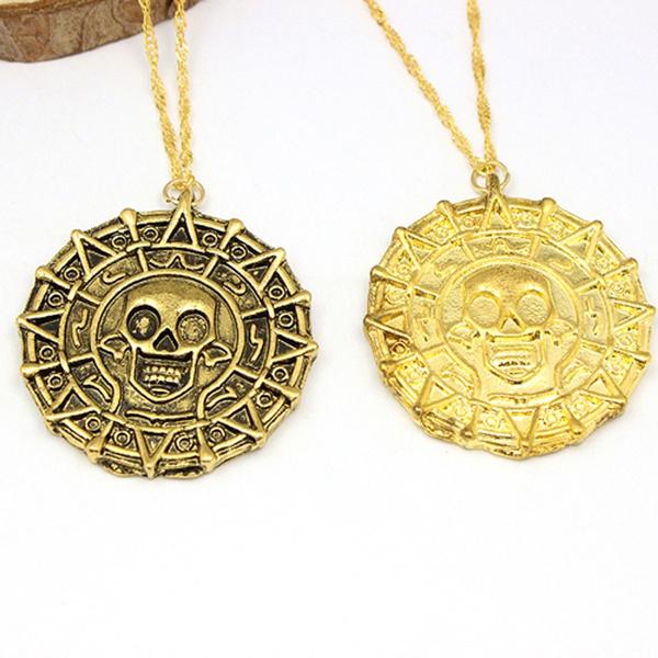 Necklace Jack Sparrow Aztec Coin