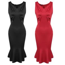 slim dress, slim, package hip dress, Cocktail