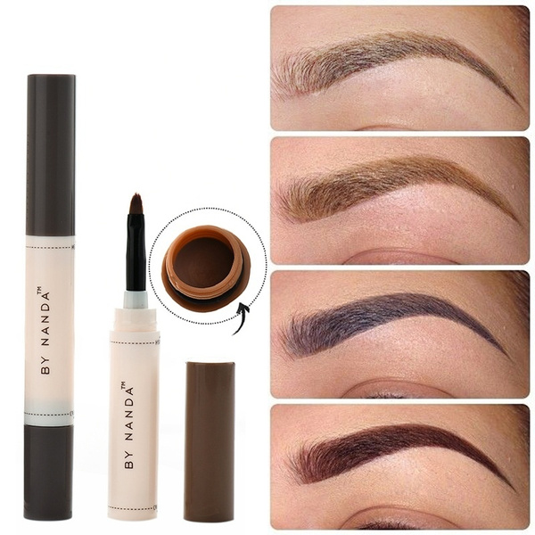 Picture of Hot Sale Professional Eye Brow Dye Cream Pencil Long Lasting Waterproof Brown Tint Paint Henna Eyebrow Set Makeup Kit Tom