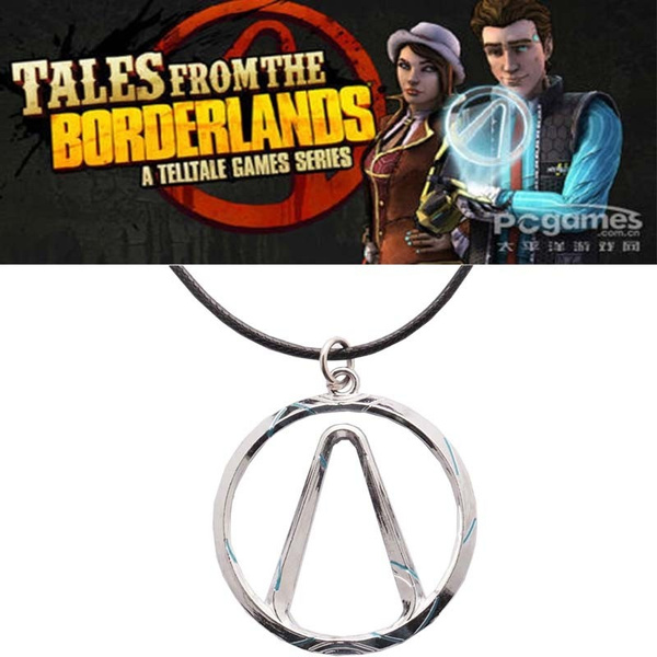 Wish Game Bijoux Borderlands Vault Symbol Choker Metal Necklace