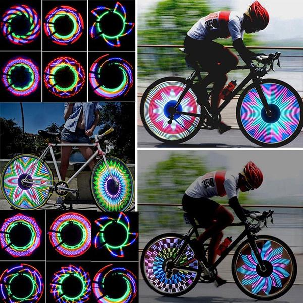 Wheel Tire Bicycle Bike car Light Spoke Lamp Motorcycle