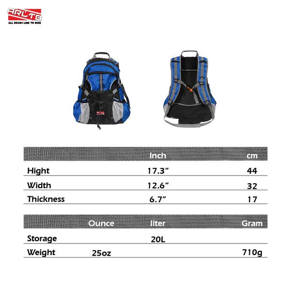 6e5b543f66bd Wish | Arltb 20L Bike Backpack with Helmet Storage (2 Colors ...