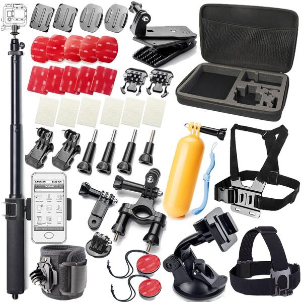 Picture of Outdoor Sports Camera Accessory Kit For Gopro Hero5 Black Hero5 Session Hero 4 Silverblackhero Session Hero3+ 3 2 1 Sjxiaomiakasodbpowerlightdow