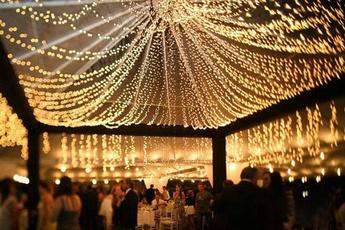 Outdoor, led, lights, Wedding