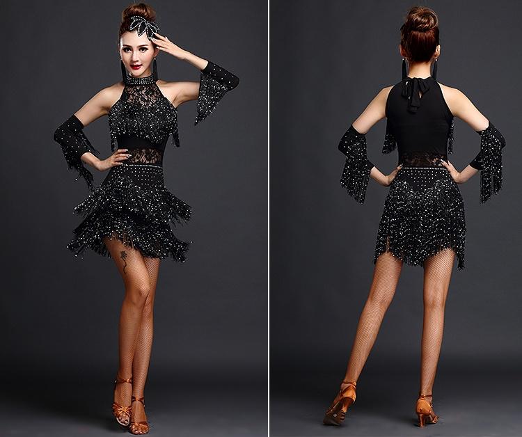Salsa trajes de baile sexy