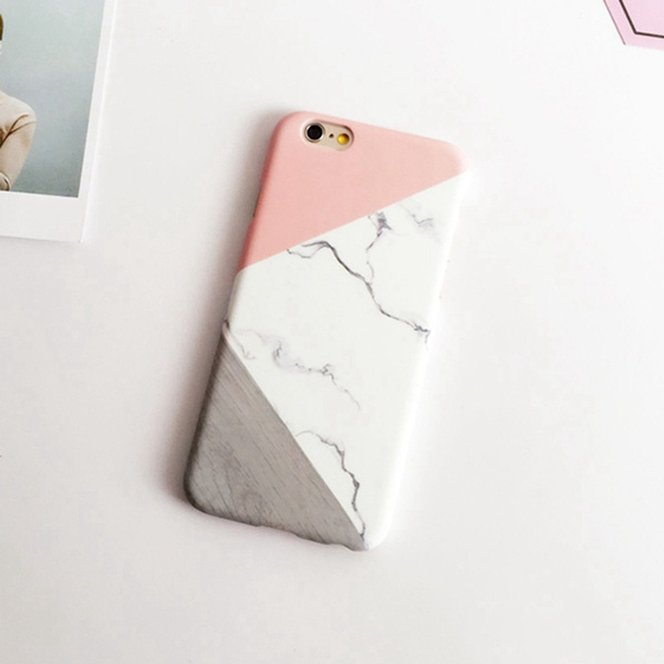 For iPhone 7 7 Plus 6 6S Plus Cases Hot PC Hard Phone Case Granite Marble Back Cover Top Quality