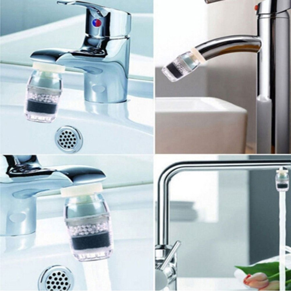Drinking Save Water Strainer Household Home Ionizer Clean Purifier Strainer  Multilayer Filtration Carbon Cartridge Faucet Tap Water Clean Purifier