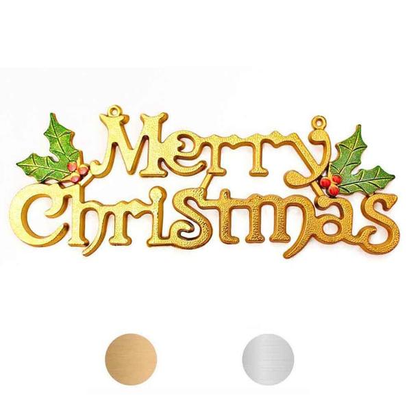Image De Lettre De Noel.Noel Decoration De Noel Mode Merry Lettres De Noel Decorations Or Argent Ornement Decorations