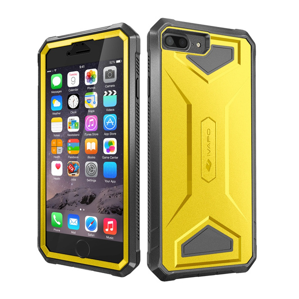 online store 32765 57b6e For iPhone 8 Plus Case, iVAPO [Armor Series]for Apple iPhone 7 Plus Cases  Impact Resistant Full-body Protection Phone Case with Built-in Screen ...