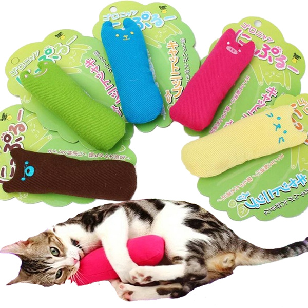 Interactive Fancy Catnip Cat Pillow Toy Teeth Grinding Claws For Pets Funny Toys