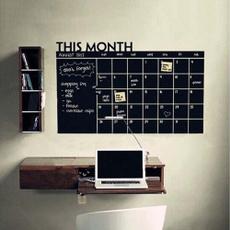 Decor, blackboardwallsticker, wallartsticker, monthly