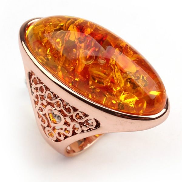 amber, bohomian, highqualityringamber, Fashion