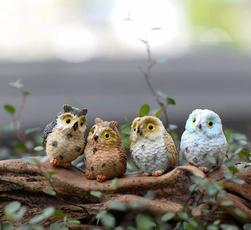 cute, gnome, Owl, Accessories