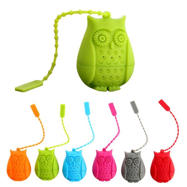 Owl, Novelty, teainfuserfilter, teaspoonfilter