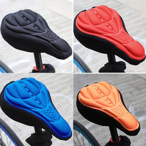Výsledok vyhľadávania obrázkov pre dopyt Fashion Thick Cycling Bicycle EVA Pad Seat Saddle Cover Soft Bike Cushion Pad