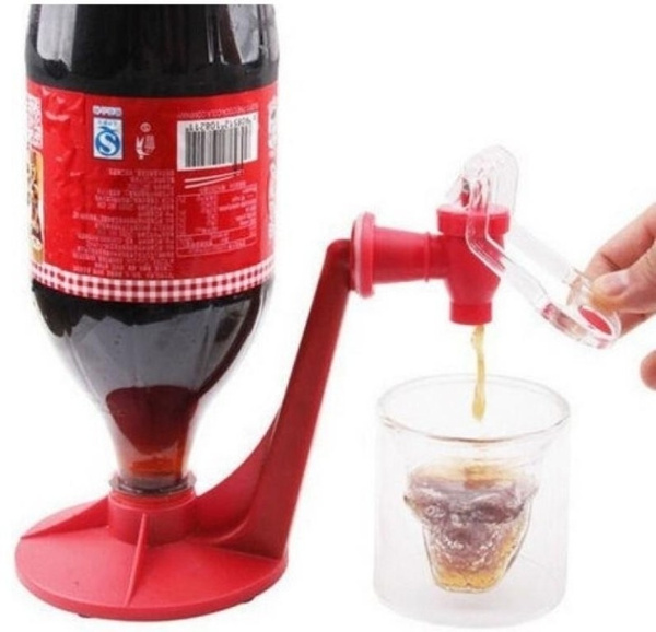 Picture of Flying Bird Home Good Quality And Super Low Price Home Bar Coke Fizzy Soda Soft Drinking Drink Saver Dispense Dispenser Faucet Flyinghxj006 Flying Bird Home Color Red