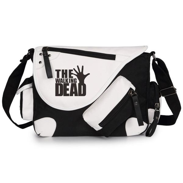 The Walking Dead Shoulder Bag Commemorate Messenger Bags School Handbag