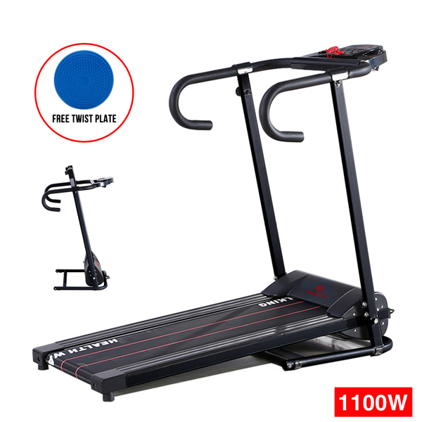 Folding Electric Treadmill Running Machine Portable Gym Fitness Motorized