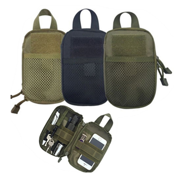 Picture of Outdoor Phone Pouch Tactical Waist Solid Pack Belt Bag Edc Wallet Only Bagothers Not Include