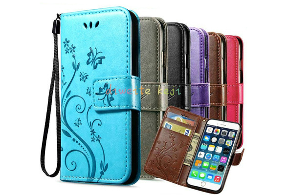 HIgh quality Hot Butterfly Fly Flower Leather Flip Book Wallet Cell Phone Case Soft Cover for Sony Xperia M2 Z3 Z3 Compact Z4 Z5 Z5 Compact for IPhone X 5 5s 6 6s 6Plus 6s Plus /8 7 7plus Samsung Galaxy S6 S6edge Plus S7 S7edge S8 S9 Plus A310 A510 J3 J510 J710