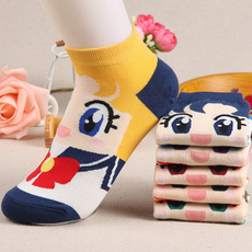 Kawaii, cute, Cotton Socks, Socks