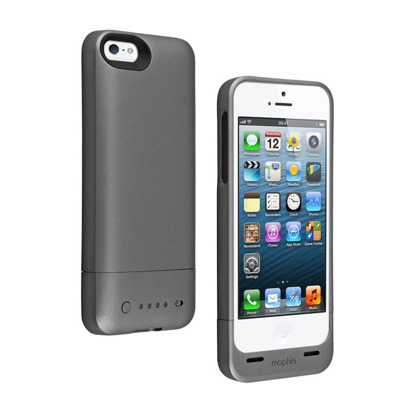 buy popular 60ee2 115fa Mophie Juice Pack Air Protective Battery Charger Case for iPhone 5, 5S  (Certified Refurbished)