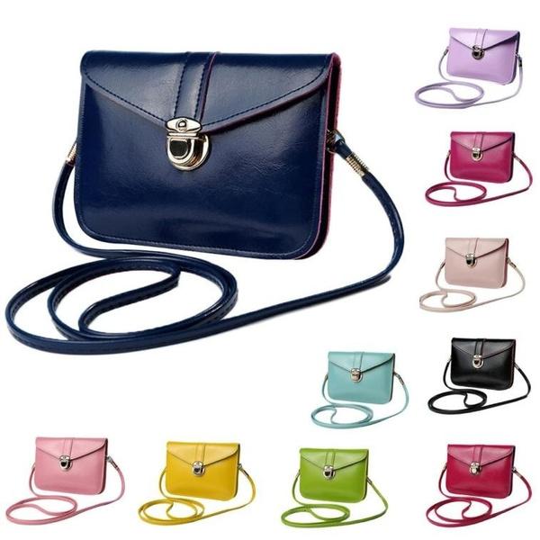 Picture of Purse Bag Leather Handbag Single Shoulder Messenger Phone Bag