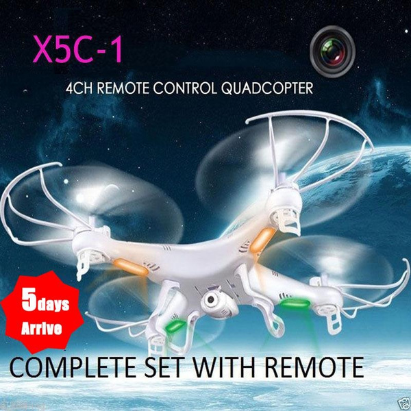 Picture of X5c-1 6-axis Gyro Rc Quadcopter Drone Helicopters Uav Ufo With +Camera Rtf Usa Mainland Delivery