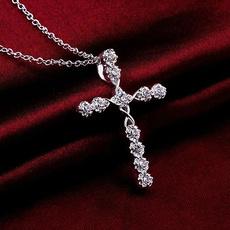 Sterling, sterling silver, Beauty, Cross Pendant