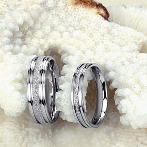 Couple Rings, Simplicity, Fashion, Love