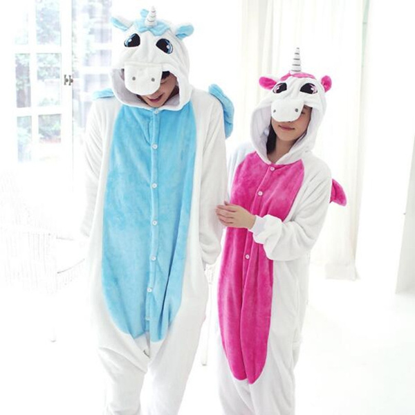 New Unisex Adult Pajamas Kigurumi Cosplay Costume Hot Animal Sleepwear Suit