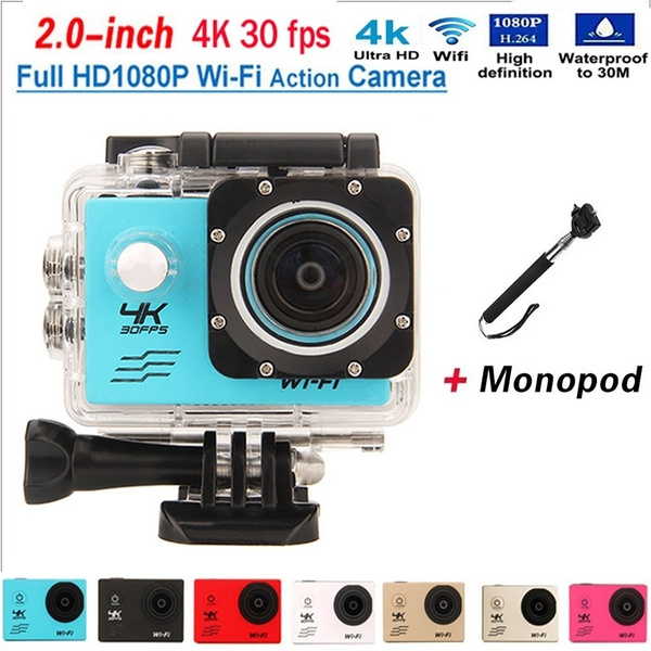 Action camera F60 Allwinner V3 4K/30fps 1080P/60fps WiFi 2 0