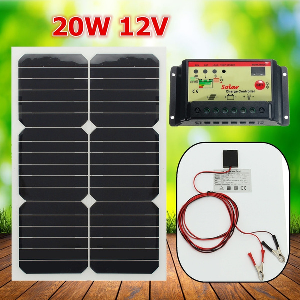Solar Panel With Wire Mini System Cells For Battery Cellphones Chargers Module