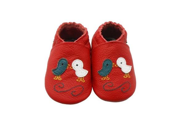 Sayoyo Baby Genuine Leather Crib Shoes