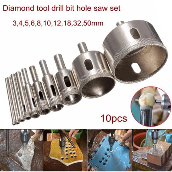 Wish | New High Speed Steel 13pcs Titanium Coated Drill Bit Set Hex Shank 1.5-6.5mm Wood Plastic Tool Set