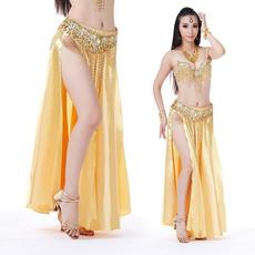 dancewear, long skirt, splitskirt, bellydanceskirt