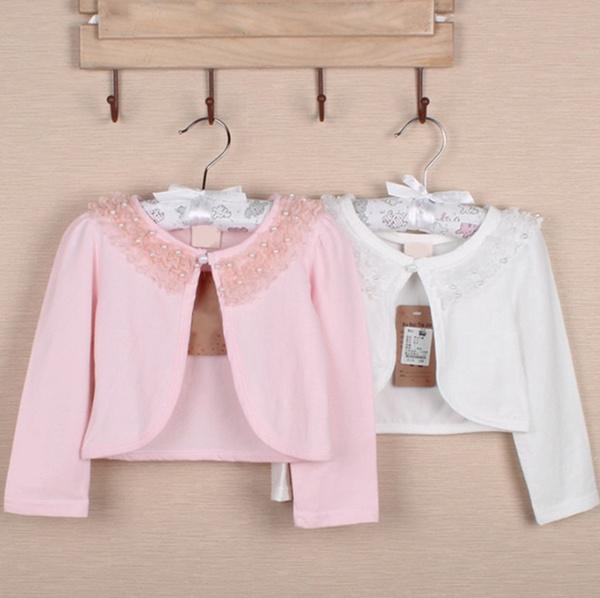 Cardigans Clothing Adorel Little Girls Lace Bolero Shrug