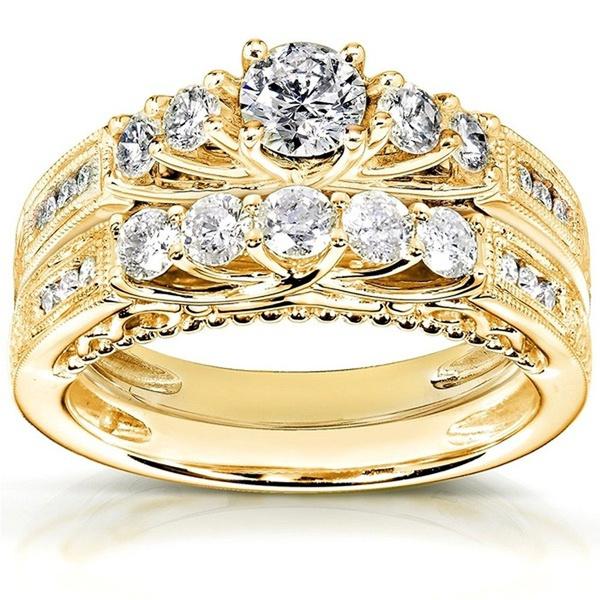 yellow gold, 10ktyellowgoldfilled, Fashion, wedding ring